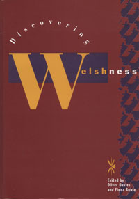 Book cover of Discovering Welshness